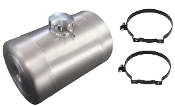 2.25 Gallon - 8X12 Spun Aluminum Gas Tank - Internal Baffle