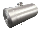 8x10 Center Fill - 2 Gallon - Baffle - shootout vent 1/4 NPT